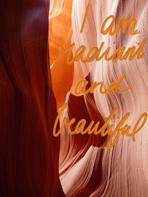 Sacral Chakra Affirmation - I am radiant and beautiful