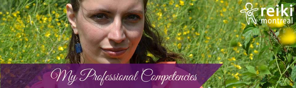 Inge Broer's Competencies at Reiki Montreal
