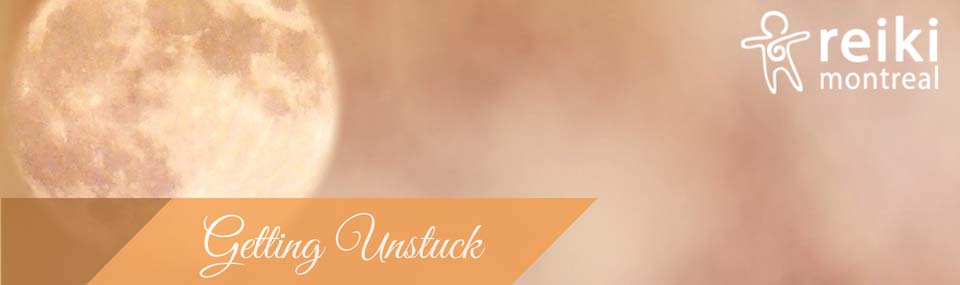Getting Unstuck at Reiki Montreal