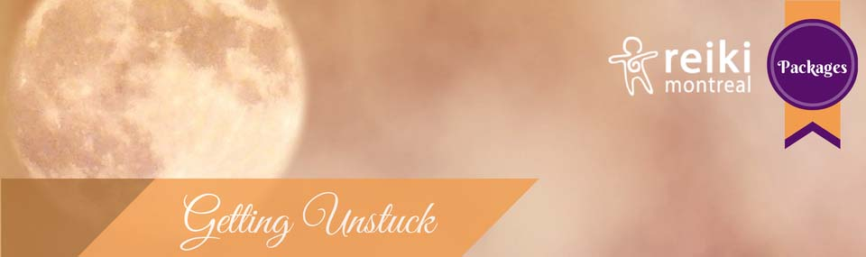 Getting Unstuck Packages at Reiki Montreal