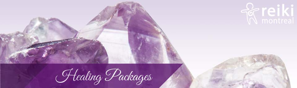 Healing Packages at Reiki Montreal