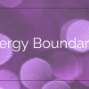 Energy Boundaries