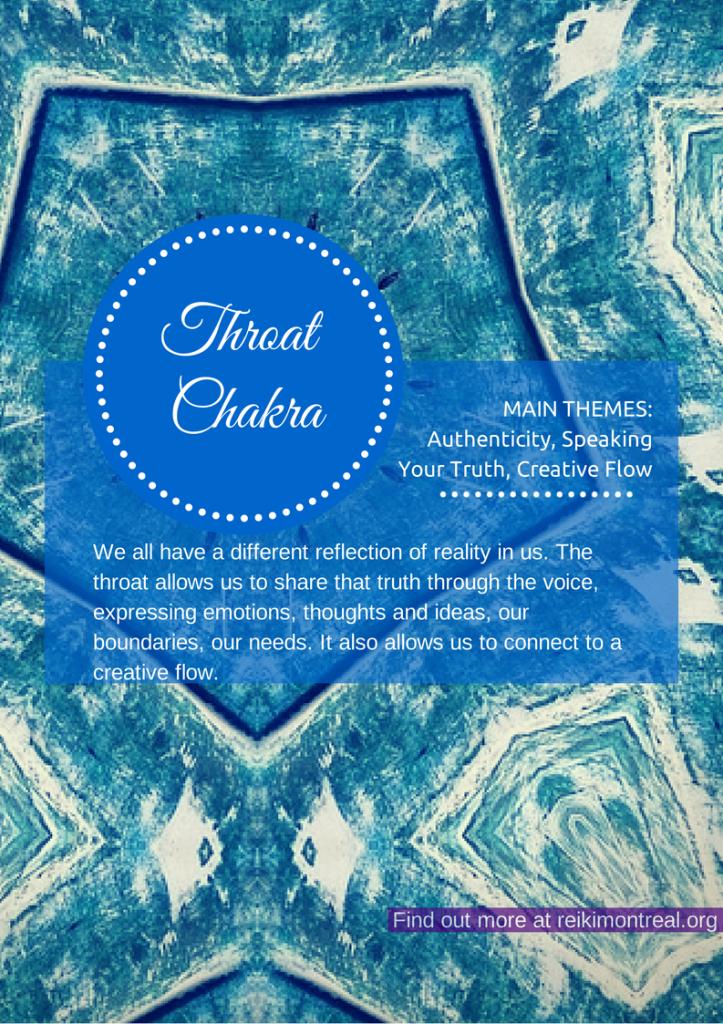Throat Chakra | Reiki Montreal